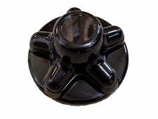 Black Plastic Hub Cover for 5 x 4.5 hubs Trailer RV Camper Cap Wheel Tire