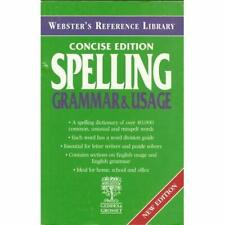 Webster's Reference Library - Concise Edition - Spelling, Grammar & Usage