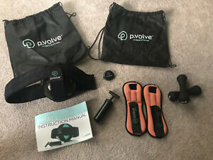P volve workout bundle - P.ball with pump, Ankle & Hand Weights Bags + Extras