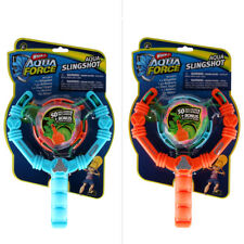 Wham-O Aqua Force Water Bomb Slingshot Assorted Red/Blue Christmas Birthday Gift