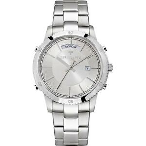 Mens Wristwatch TRUSSARDI T-STYLE R2453117004 Stainless Steel Silver Color