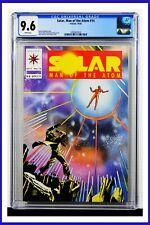 Solar Man Of The Atom #14 CGC Graded 9.6 Valiant October 1992 Comic Book