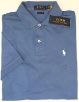 Polo Ralph Lauren Blue Short Sleeve Shirt Mens Classic Fit NWT Cotton NEW $79