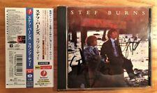 Stef Burns - Swamp Tea + 1  Japan CD w/OBI - Signed by Stef Burns&Jimmy DeGrasso