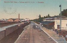 * ARGENTINA - Tucuman - Estacion Taff Viejo y Talleres del F.C.C.N. 1915