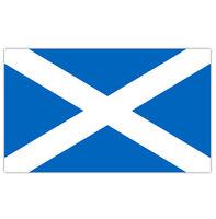 SCOTLAND ST ANDREW'S SALTIRE SCOTTISH BLUE & WHITE FLAG 5' X 3FT NATIONAL FLAG