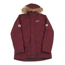JACK WOLFSKIN Texapore Insulated Parka Jacket | Coat Waterproof Rain Hooded Fur