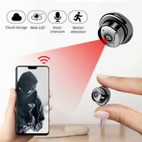 Home Security Camera HD 1080P with Mini Wireless WIFI Night Vision Motion Track