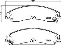 Mintex Front Brake Pad Set MDB3304  - BRAND NEW - GENUINE - 5 YEAR WARRANTY