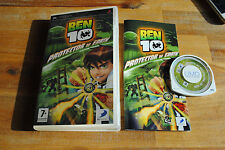 Jeu BEN 10 PROTECTOR OF EARTH pour PSP