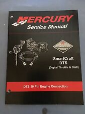 Mercury Service Shop Manual Smart Craft Digital Throttle and Shift DTS 10 Pin