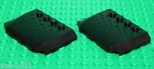 Lego 2x Black Triple Wedge (Car Bonnet) 4x6x2 (52031)  NEW!!!!