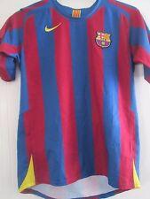 Barcelona 2005-2006 Hogar Camiseta De Fútbol Tamaño Extra Grande Chicos/41376
