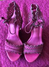 Next Ladies Pink Wedge Uk Size 6