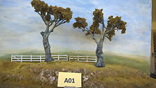 Model Trees Australian Gums Layout ready NSWGR QGR  train rail HO OO N  lot A01