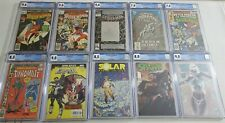 LOT OF (10) MARVEL INDY CGC GRADED COMICS Amazing Spider-Man 365 Spider-Woman 1