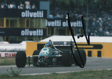 Gerhard Berger-AUTOGRAFO ORIGINALE, Benetton 1986, SIGNED PHOTO