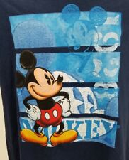Disney Mickey Mouse T- Shirt Mens Size large Black  NWT