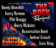 THE ROCK REVIVAL-Randy Stonehill,Larry Norman,Love Song,etc. (3 CD'S, 55 Songs)