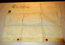 A 1813 Lease English b/w Rev Samuel Pickering & Edward Orme Middlesex