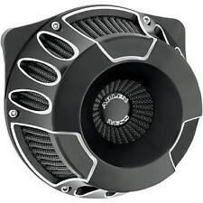 18-929 Arlen Ness Black Inverted Series Deep Cut Air Cleaner Kit