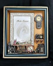 Photografic Camara / Watch Clok Design Picture / Photo Frame Art Wall Shadow Box