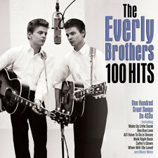 The Everly Brothers - 100 Hits (4CD 2017) NEW/SEALED