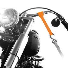 Motorcycle Motorbike Quad handlebar tie down trailer loops - set of 2