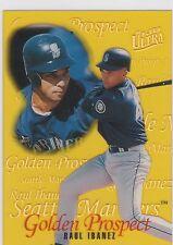 1996 Fleer Ultra Golden Prospects #9 Raul Ibanez Seattle Mariners
