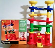 DISCOVERY TOYS Castle Marbleworks w box; safe for tots