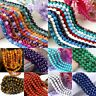 Mystic Aura Quartz Gemstone Loose Beads Holographic Quartz DIY Bracelets 6mm 8mm