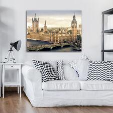 CANVAS WANDBILD LEINWANDBILD FOTO WASSER BIG BEN STADT BRÜCKE LONDON 3FX2462O1