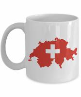 Switzerland Map Coffee Mug
