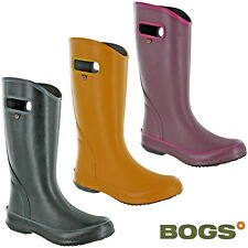 Bogs Womens Wellingtons Waterproof Rainboot Solid Summer Lightweight Soft Boots