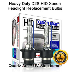 INT Shipping Heavy Duty D2S D2R OEM HID Xenon Headlight Replacement Bulbs X 2