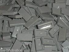10 x LEGO DkStone tile 1x2 ref 3069b / 10186 7041 10182 10211 10185 10176 6210