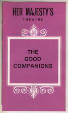 "John Mills & Judi Dench   ""The Good Companions""   Playbill   London   1974"