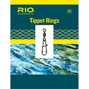 Rio® Tippet Rings (Salmon or Trout Sizes) 10PCS * NEW 2021 Stocks * TTR TRS