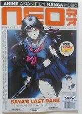 NEO Magazine # 122 April 2014 Printed in UK Anime Asian Flim Manga Music