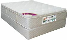 Queen Pocket & DUNLOP Visco Flex & Latex P/Top Mattress