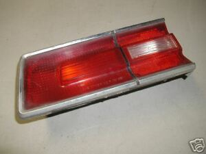 PLYMOUTH FURY II DRIVER SIDE TAIL LIGHT LENS 196* 1968