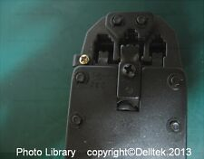 Modular Ratchet Crimping Pliers RJ11 RJ12 RJ45 MMJ DEC 6P6C/Offset (CK 430020)