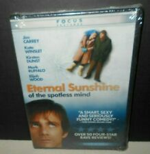Eternal Sunshine of the Spotless Mind 2004 New factory Sealed Dvd Widescreen 'R'