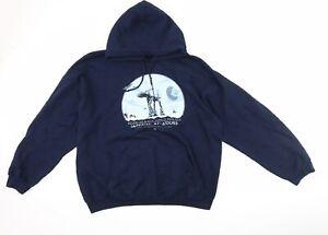 Gildan Mens Blue   Pullover Hoodie Size XL  - Star wars