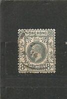 Hong Kong King George V 8 Cents Great Britain China / Asien Old Stamps