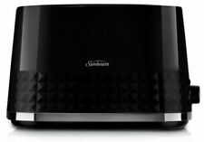 Sunbeam Diamond 2 Slice Toaster - Black