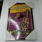 New Lagunitas India Pale Ale Boxing Wooden Beer Sign Man Cave 11.5 x 19.5