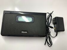 iHome Model iH24 iPod Clock Speaker Dock - Black With Charging Cord