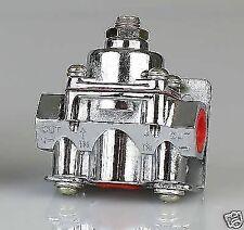 Chrome 4-9 psi Fuel Pressure Regulator Holley Mr Gasket style drag hotrod chev