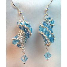 Sterling Silver .925 Earrings made w/ fine Austrian crystals